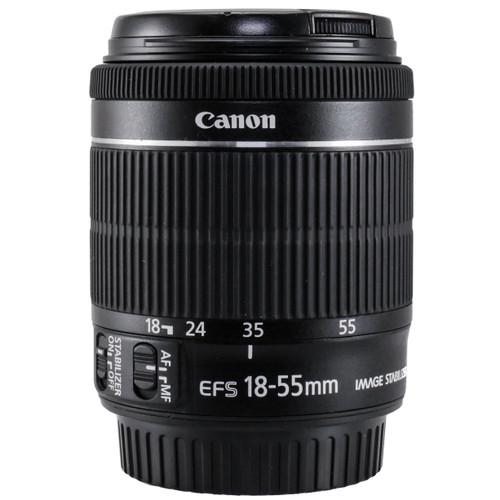 Used Canon EF-S 18-55mm f/3.5-5.6 IS STM Lens (EX) (625289347)