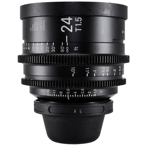 Used Sigma 24mm T1.5 FF High-Speed Art Prime 2 Lens with /i Technology (PL Mount) (EX) (625290644)