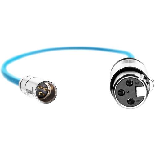 Kondor Blue Mini XLR to XLR Cable - 16in