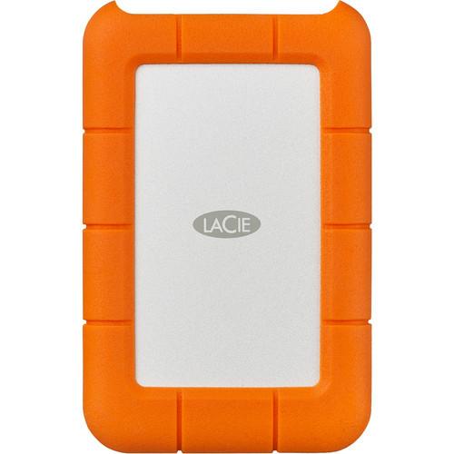 LaCie Rugged 5TB Hard Drive - USB C