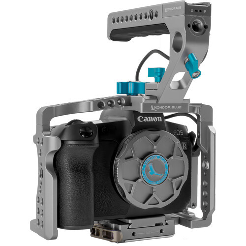 Kondor Blue Cage with Top Handle for Canon R5/R6