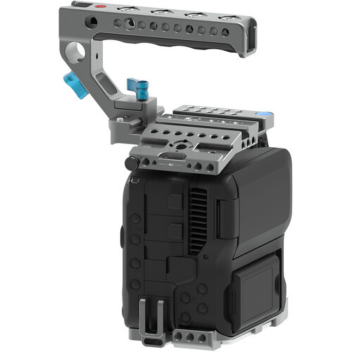Kondor Blue Cage with Top Handle for Canon C70 - Gray