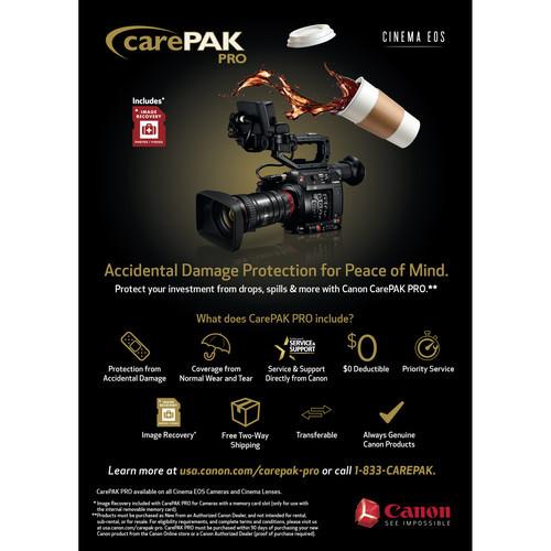 Canon CarePAK Pro for Cinema EOS Cameras