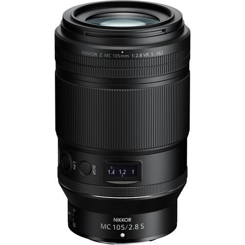 Nikon NIKKOR Z MC 105mm f/2.8 VR S Macro Lens
