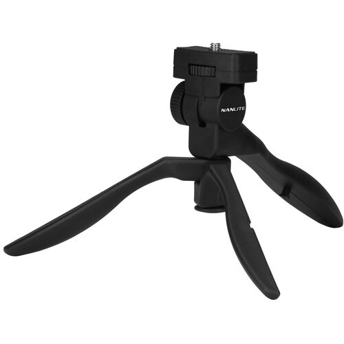 NanLite PavoTube 6C Mini Tripod and Hand Grip