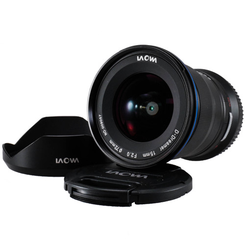 Used Venus Optics Laowa 15mm f/2 FE Zero-D Lens for Sony E (EX+) (625308141)