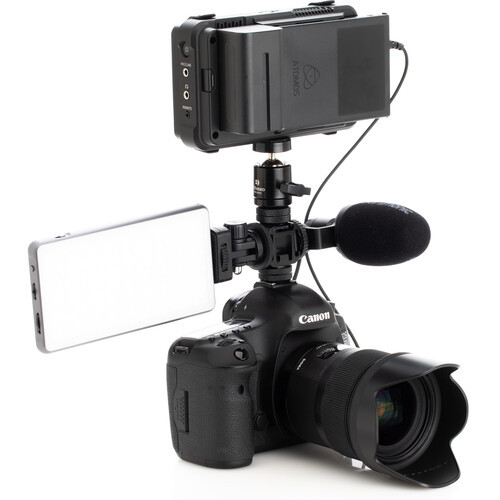 Benro MeVideo Triple Cold Shoe Adapter