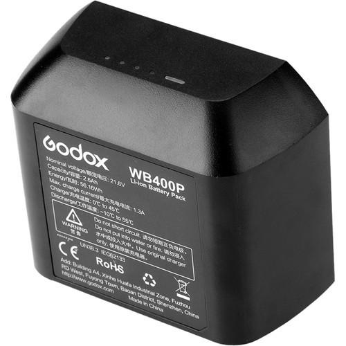 Godox WB400P Battery for AD400 Pro Flash Head