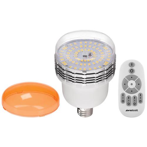Westcott LED 45w Bulb with Remote