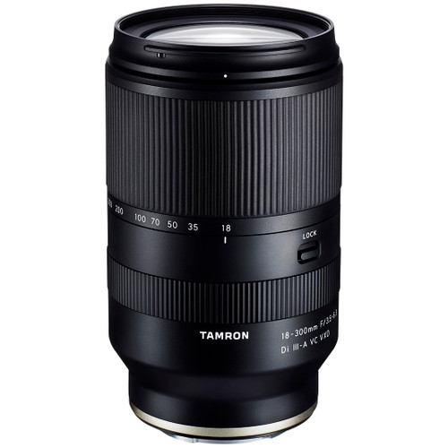 Tamron 18-300mm f/3.5-6.3 Di III-A VC VXD Lens - Sony E Mount