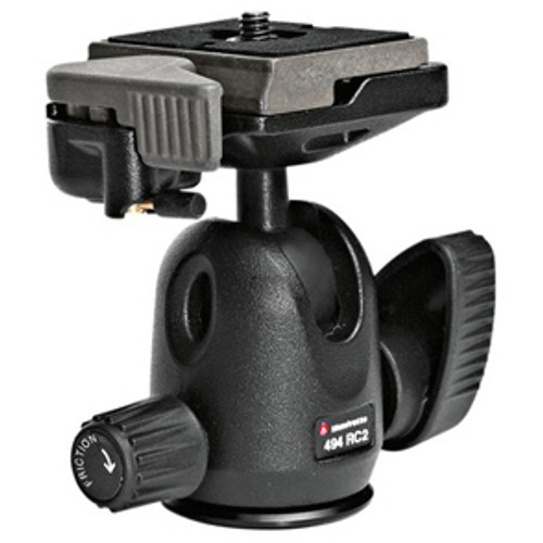 Manfrotto 494RC2 Mini Ball Head with 200PL-14 Quick Release Plate