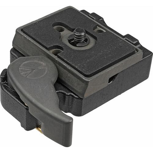 Manfrotto 323 RC2 System Quick Release Adapter with 200PL-14 Plate