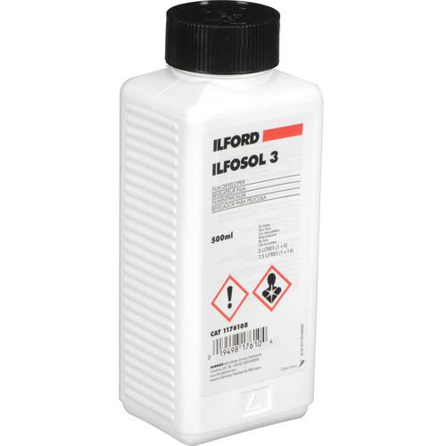 Ilford Ilfosol-3 Film Developer for Black and White Film- 500ml
