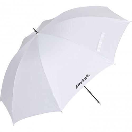 "Westcott Optical White Satin Diffusion Umbrella- 45"""