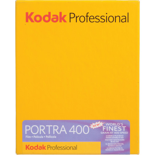"""Kodak Professional Portra 400 Color Negative Film- 4 x 5"""", 10 Sheets"""