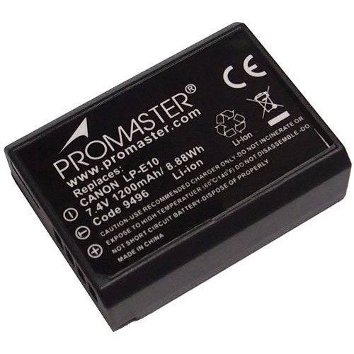 Promaster LP-E10 Li-Ion Battery for Canon