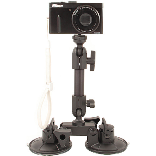 Delkin Devices Fat Gecko Dual-Suction Camera Mount