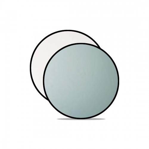 """Westcott Silver/White 30"""" 2-in-1 Reflector"""