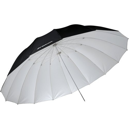 Westcott 7' Umbrella- White/Black