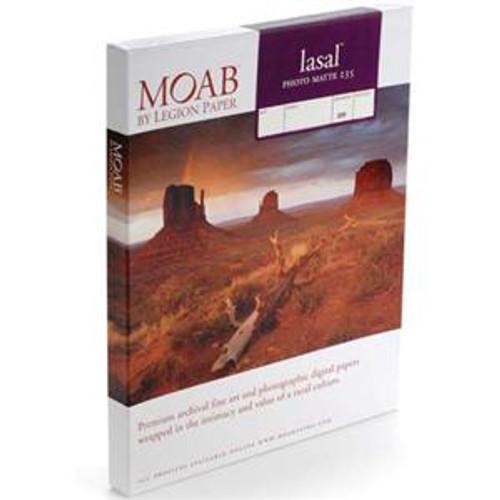 """Moab Lasal Photo Matte 235 Paper- 11 x 17"""", 50 Sheets"""