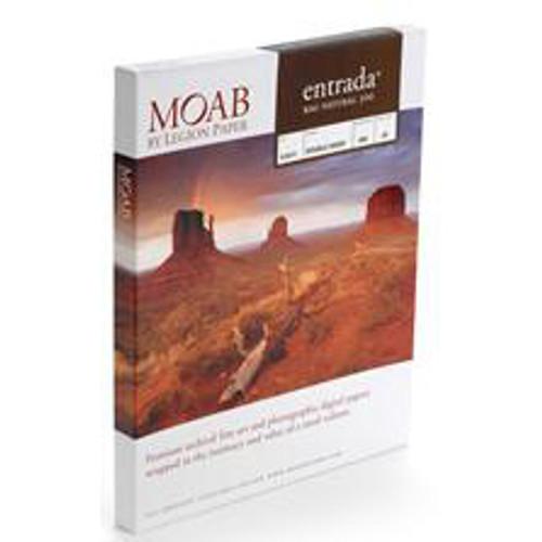 "Moab Entrada Rag Natural 300 Paper- 5 x 7"", 25 Sheets"