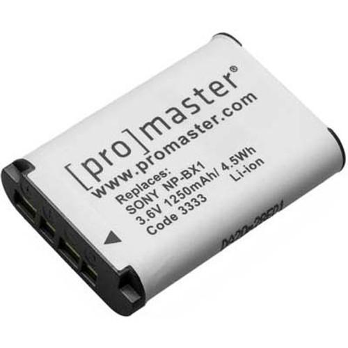 ProMaster Li-Ion Battery - Sony NP-BX1