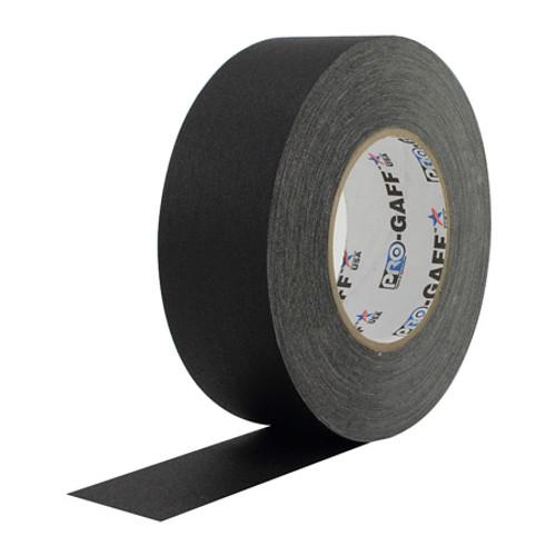 Pro-Gaff Gaffers Tape 1 Inch x 12 Yards Mini Roll- Black