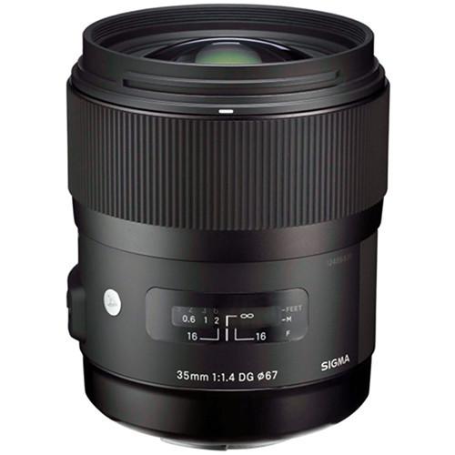 Sigma AF 35/1.4 ART DG HSM Lens- Canon