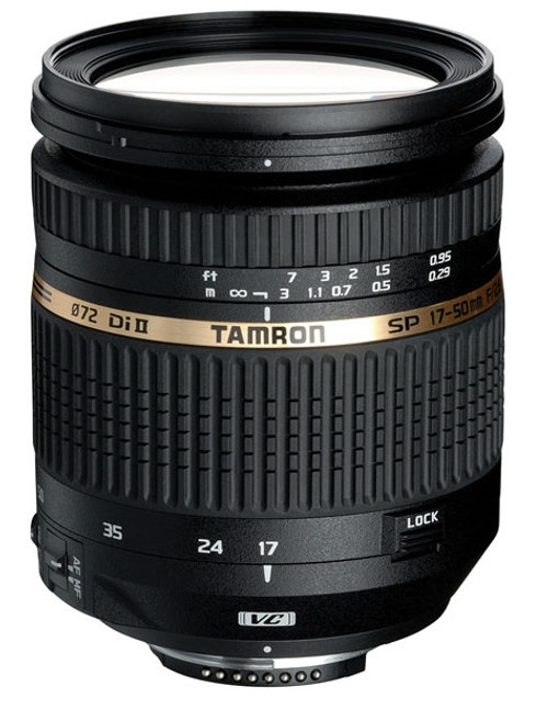 Tamron AF 17-50/2.8 XR Di II VC Lens- Canon