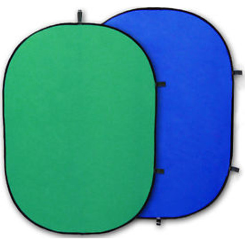 Promaster SystemPro Pop Up Background 6'x7'- Green and Blue Chromakey