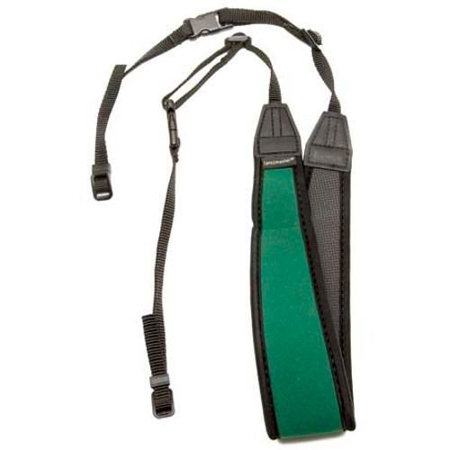 Promaster Deluxe Contour Camera Strap- Green