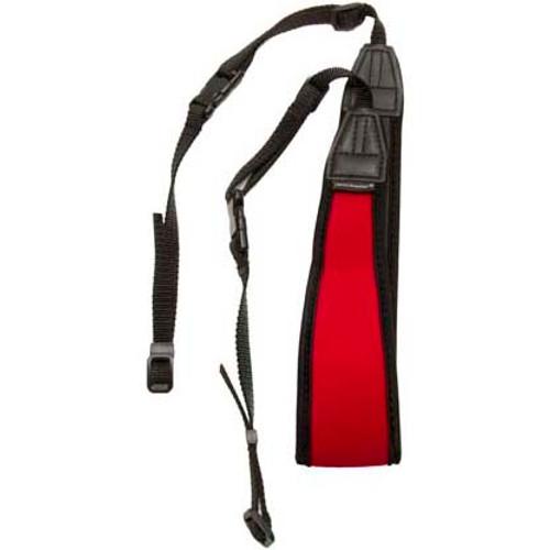 Promaster Deluxe Contour Camera Strap- Red