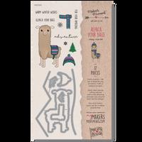 MSD202 - Alpaca Your Bags Stamp & Die Set Packaging