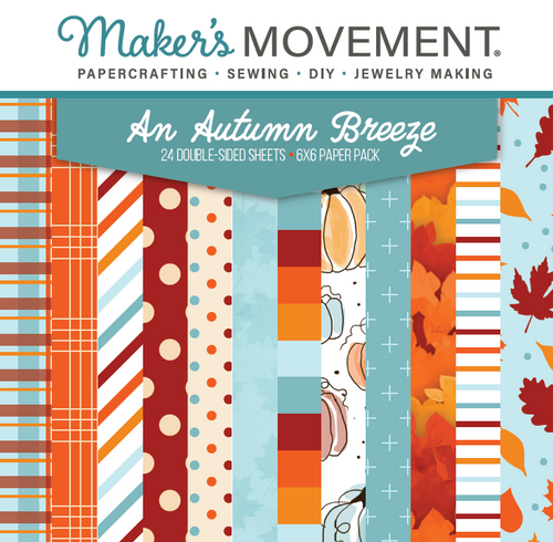 An Autumn Breeze Paper Pad