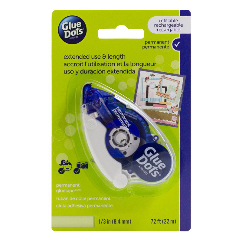 Glue Dots Permanent Tape Runner