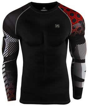 red point unique design essentials long sleeve compression