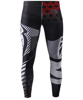 Unique Rashguard Compression Tights S~4XL