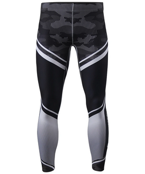 Black & White & Camo pattern design compression tight leggings