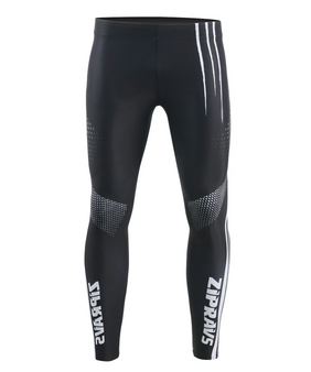 Black& White dot Design Powerlifting Compression Tight Pants