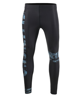 Athletic compression leggings