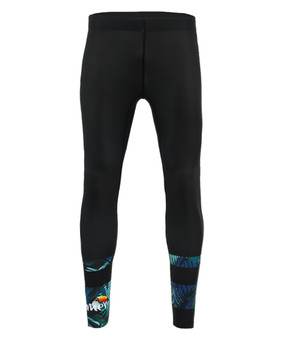 Summer Surf Compression Leggings