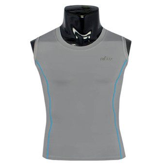 emfraa under base layer spandex tight grey sleeve less
