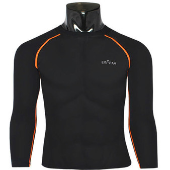 emfraa winter thermal shirts base layers black