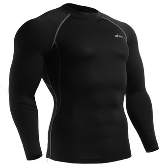 emfraa skin tight under baselayer top black