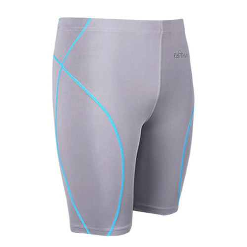 emfraa skin tight spandex shorts grey