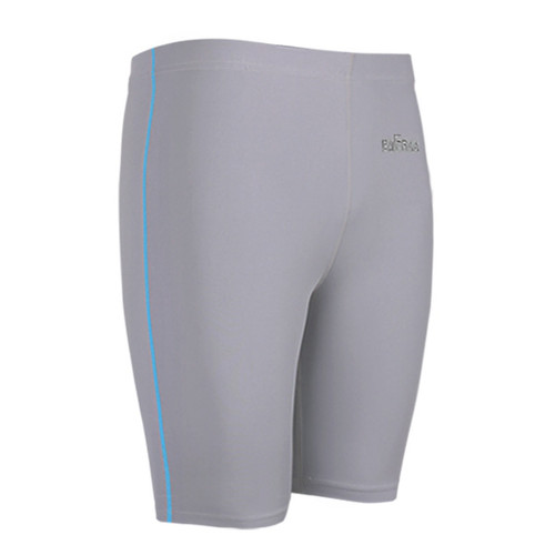 emfraa compression skin tight spandex grey shorts