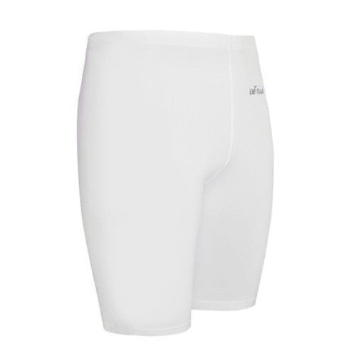 emfraa compression skin tight spandex white shorts