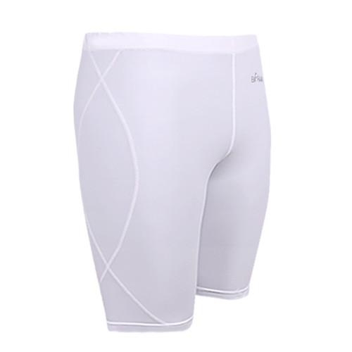 emfraa skin tight under base layer white shorts