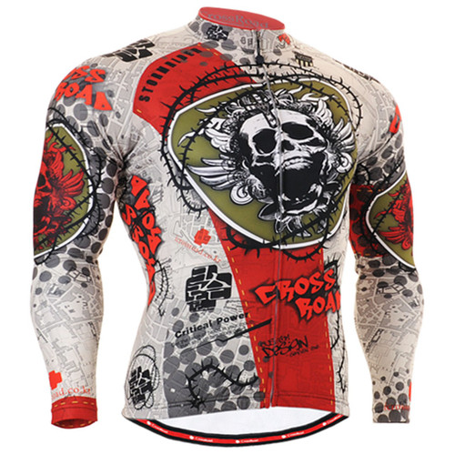 Fixgear Cycling Jersey Shirt Long sleeve