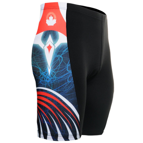 emfraa.com cycling padded tight navy black shorts